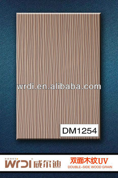 Double side wood grain sunmica for cabinet