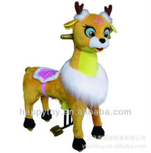 HI CE Lovely animal Cat mechanical horse