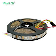 2812b led digital strip, 60 pixel led strip ws2812 rgb set wasserdicht