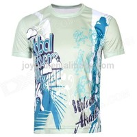 all over sublimation printing t shirt