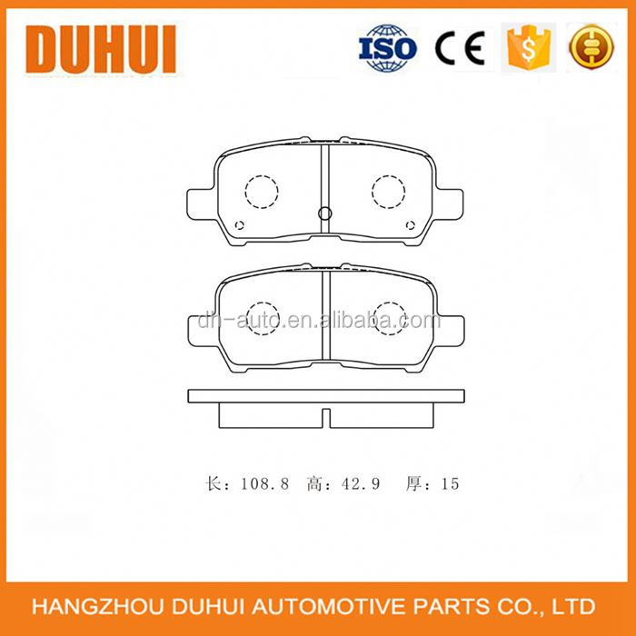 Auto Brake Pad for CHEVROLET Impala D999