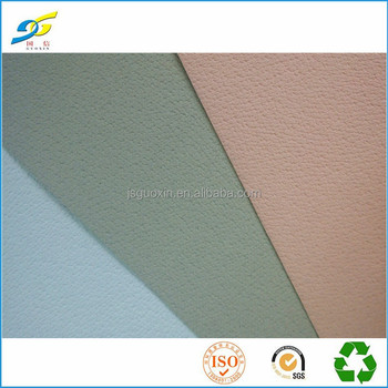 0.7mm Pigskin pvc synthetic shoe lining leather