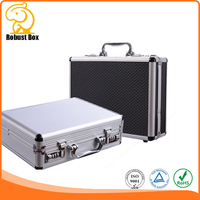 double sides storage Aluminum rifle gun case
