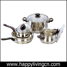 top seller stainless steel cooking cookware set for Europe market