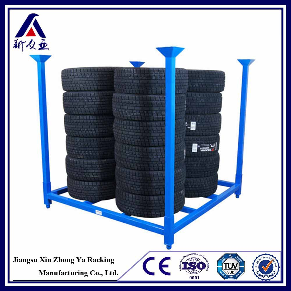High Performance China Manufacturer Semi Trailer Spare Tire Rack