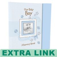 High Quality Extra Link Baby First Year Book Memory Book Custom Logo Printing