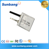 0.5mm thickness cheap lipo battery 052323 rechargeable 3.7v 15mAh ultra thin lithium polymer battery