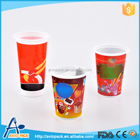 Top sale Aviopack large capacity pp plastic biscuit cups with sauce plate