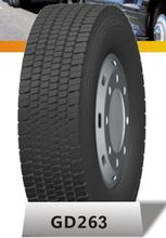 GD263 295/80R22.5 TUBELESS TRUCK TIRES RADIAL