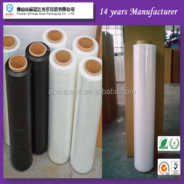Supply guangzhou Packing pallet wrap PE material stretch <strong>film</strong>