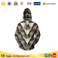 Wholesale Hooded Zipper, Sublimation ninja hoodie