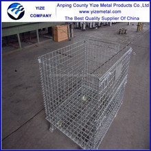Best-selling Zinc-coated EVERGREAT collapsible warehouse storage cage for workshop