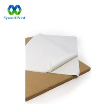 Custom 17 gsm plain white wrapping tissue paper for wrapping clothing and shoes