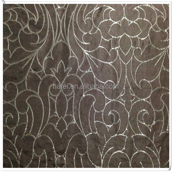 beautiful new design jacquard fabric curtain wholesale