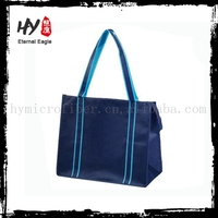 Competitive price zipper pp woven bag, pp shopping bag with zipper, laminated non woven zipper bag
