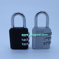 100pcs/lot Combination lock free shipping by FEDEX/DHL/UPS/TNT