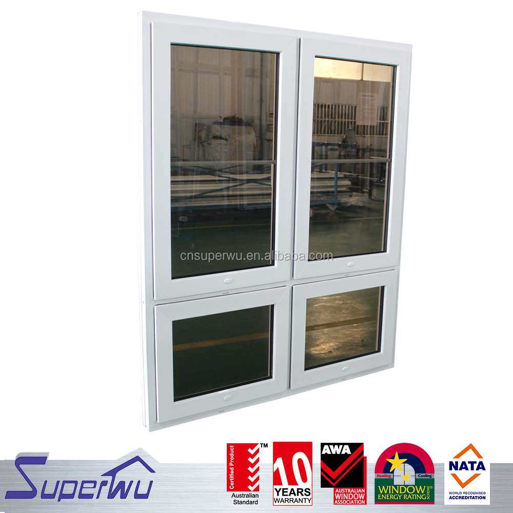 China factory manufacture plastic upvc window price