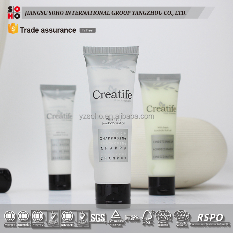 2017 high quality Hotel Amenity Sets disposal hotel cosmetic products