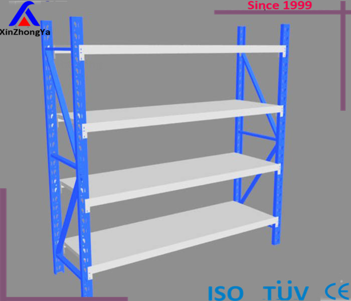 Heavy Duty 4 Tier Steel Welded Rack Industrial Commercial Frames Beams <strong>Shelves</strong>