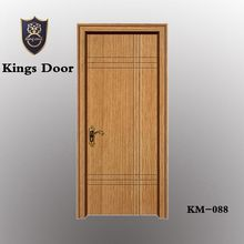 internal plain flush mdf door with frame,casing for rooms