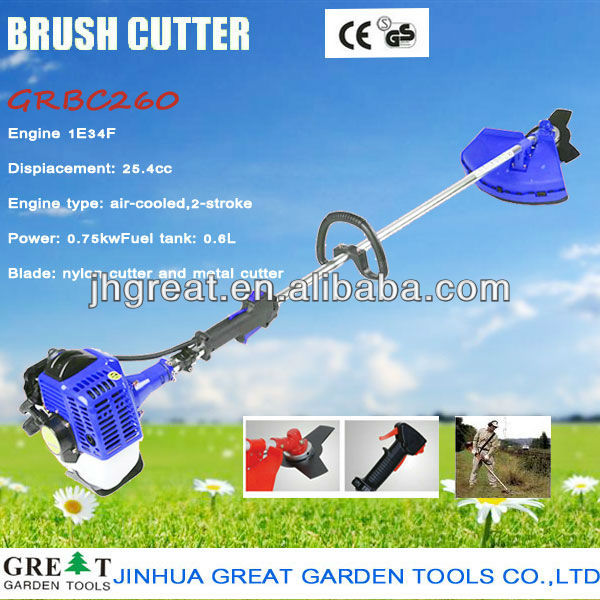 52cc brush cutter Gasoline Shoulder Brush Cutter/Grass Trimmer With CE briggs stratton