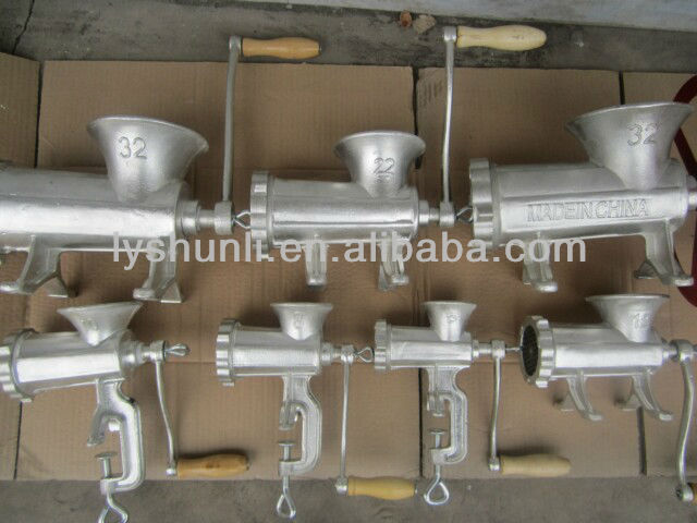 cast rion Manual meat mincer, Manual Meat Mixer Grinder