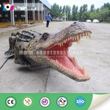 zoo equipment attractive marine animal remote control African crocodile for sale