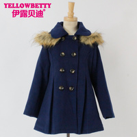 Wholesale new style children winter coat Girls Coats