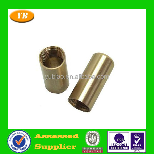 Dongguan factory High quality metal sleeve metal threaded sleeve