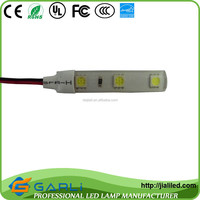 Waterproof Automobile decorative lamp strip 3 3528 2835 5050smd led 12v dc 0.7w with cable