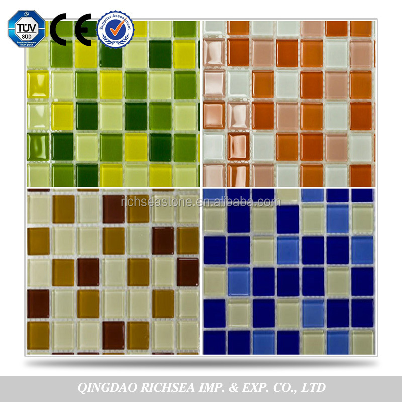 Piscina piastrelle di mosaico in ceramica a buon mercato - Piastrelle tipo mosaico ...