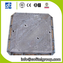 Cast iron manhole cover 500*500 square covers