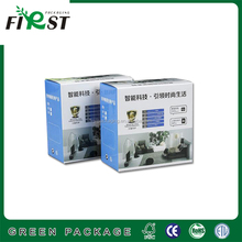 Double wall paper cardboard carton box corrugated mailer box/waxed corrugated premium toner cartridge packaging box