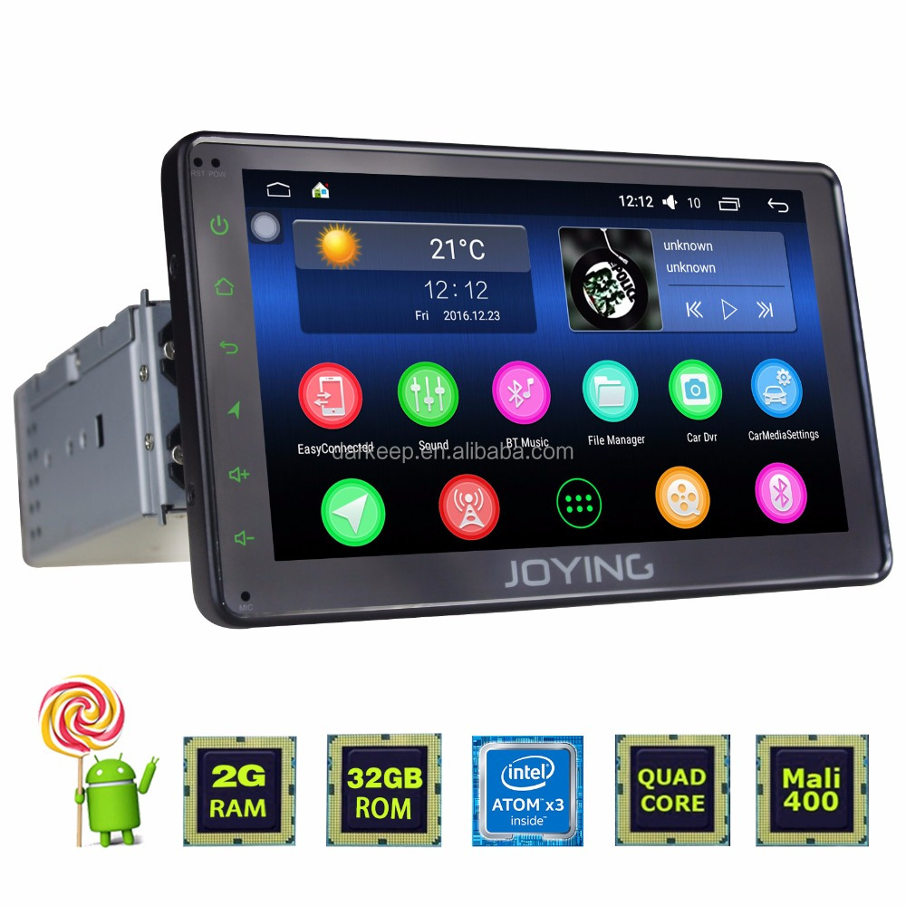 Joying new android 6.0 marshmallow system 1din touch screen car stereo