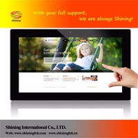 18.5 inch wifi touch screen digital photo frame mp4 hot videos free download SH1852WF-T