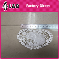 2016 Hot Sale Embroidered Sleeve Paste Hollow Lace Paste Decorative