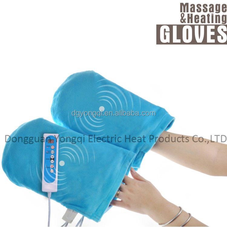 Massage heating Gloves for hand Warmer