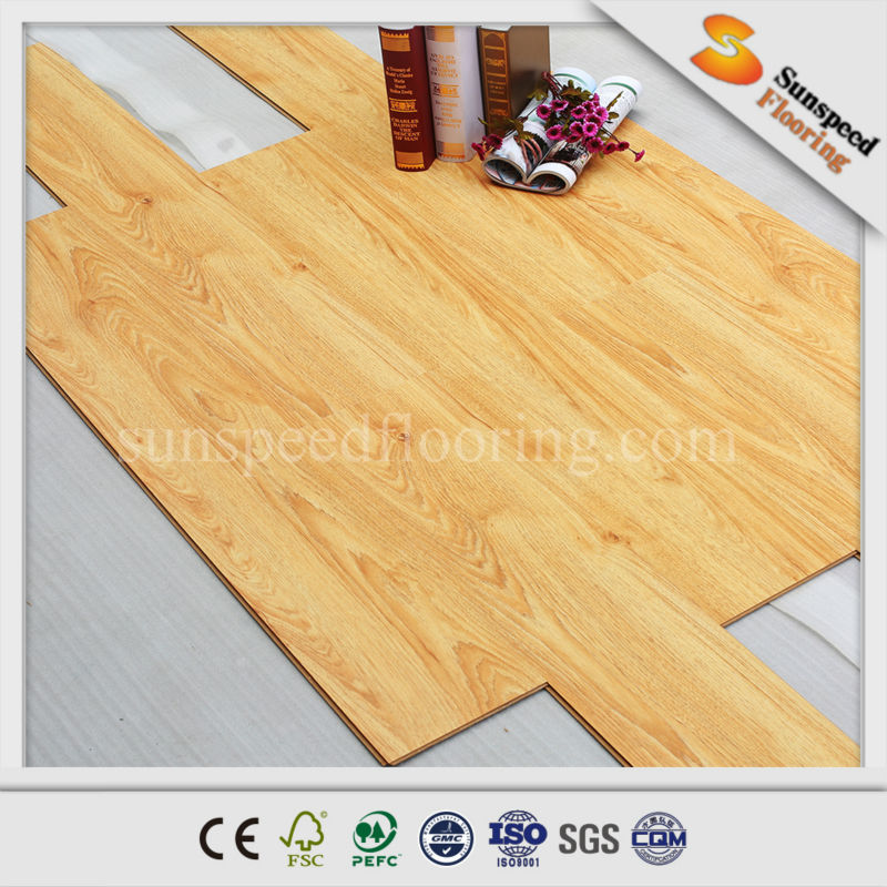 7mm 8mm embossed in registered oak premier laminate flooring deck