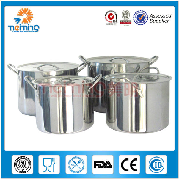 4pcs professional stainless steel cookware