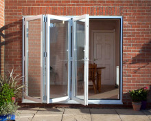 Specialized in double glazing folding doors