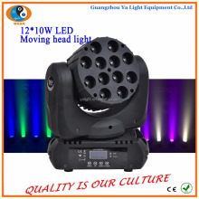 High effeciency low power consumption 12 X 10w Led rgbw 4in1 Beam Moving Head Light