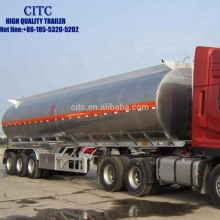 CITC hot sale 40 tons aluminum tank tanker semi trailer for transportating phosphorus trichloride