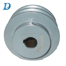 China Supply 2 Groove Grey Cast Iron AKH Double Belt Pulley