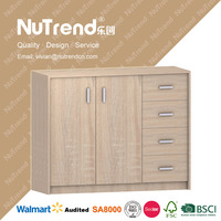 customize design best price mirrored file cabinet with storage
