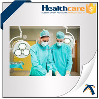 transparent non-woven medical gowns