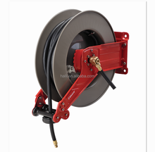 15m 20m dual-arm heavy-duty auto retract air hose reel