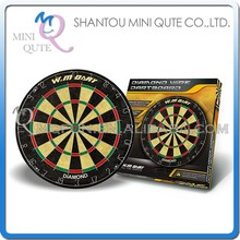 MINI QUTE Indoor Fun & Sports 18 inch wholesle bar party target classical bristle darts board with 6 darts game NO. WMG08092