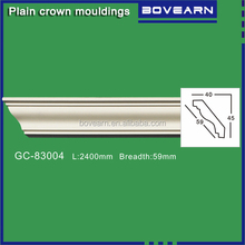 wholesale PU crown moldings for ceiling design