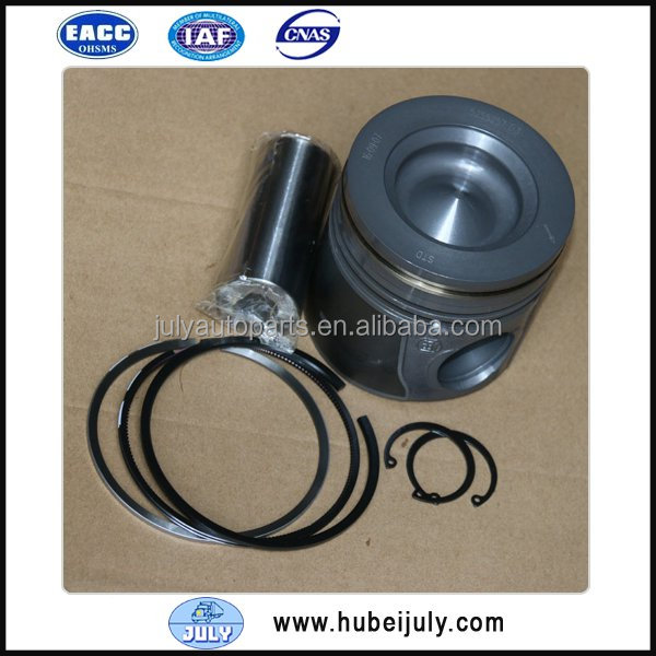 4955337 piston set with piston ring 4955169, piston pin for Cummins ISBE diesel engine