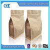 Custom logo rice bags kraft coffee/beef/snack paper bag